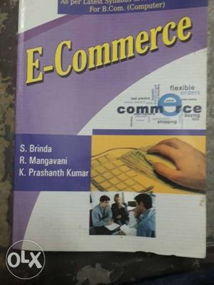 E Commerce text book (B.com) computers..kalyani