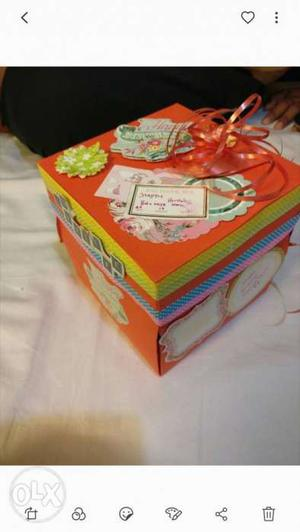 Exploding Box Customized Celebration Gifts..