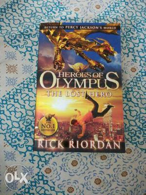 Heroes of olympus: the lost hero children book