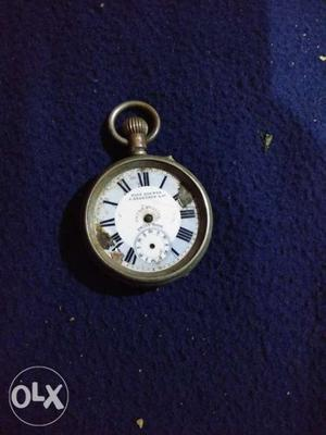 Hundred years old pocket watch