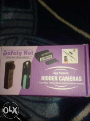 Person Holding Hidden Camera