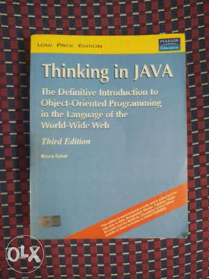 Thinking in java 3rd edition bruce eckel