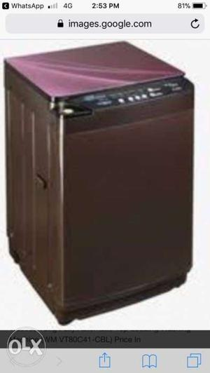 Top load fully automatic videocon washing machine