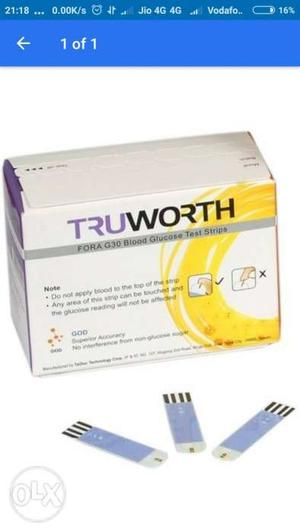 Truworth G30 Test Strips pack of 50 Strips (Brand New