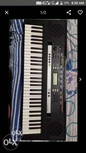 White And Black Electronic Keyboard Screenshot