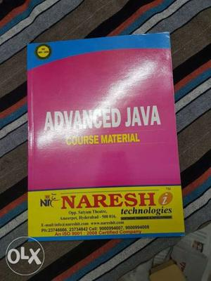 Advanced Java Course Material Book