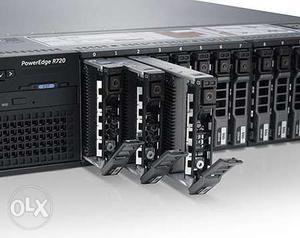 Dell Poweredge R720 server with E Processor*2 No's &