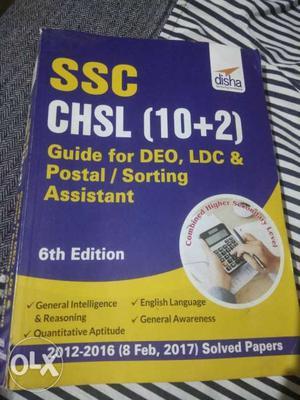SSC CHSL 10+2 Book