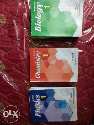 ALLEN coaching pre medical book set for NEET &