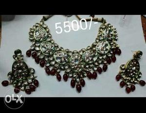 Kundan Meena Jewelry **new** unused price Mention