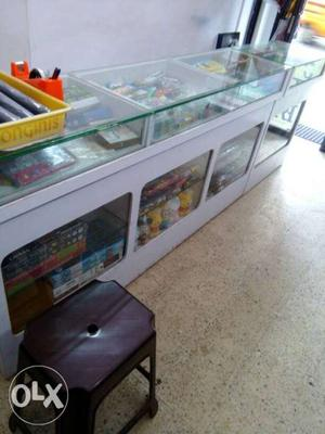 Stationary Furniture Set For Sale One counter and three