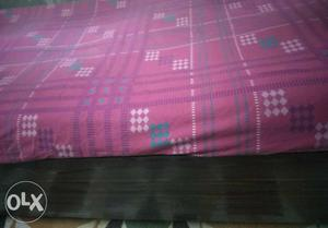 Wooden single bed with storage.size 3 3 by 6.