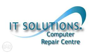 IT Solutions Computer Repair Centre Text Overlay