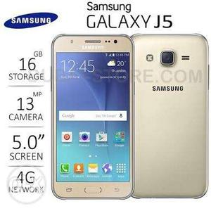 Samsung galaxy j5 in good condition light touch