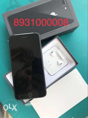 Iphone 8 plus 64gb grey colour just box opened