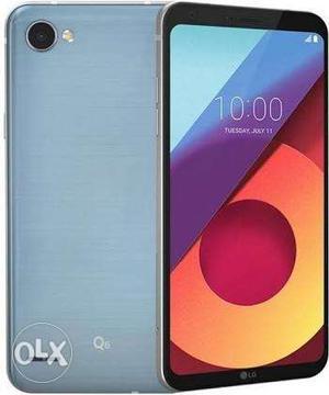 Lg q6 plus blue colour 4gb ram 64gb internal lite