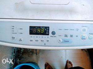 Top load washing machine.6kg. in good working