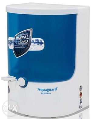 White And Blue Aquaguard Water Purifier