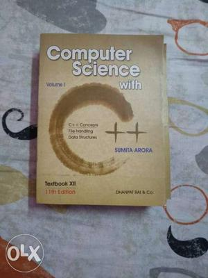 Computer Science With C++ By Sumita Arora Textbook