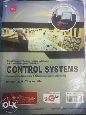 Control systems sem 4 techmax Electronics and