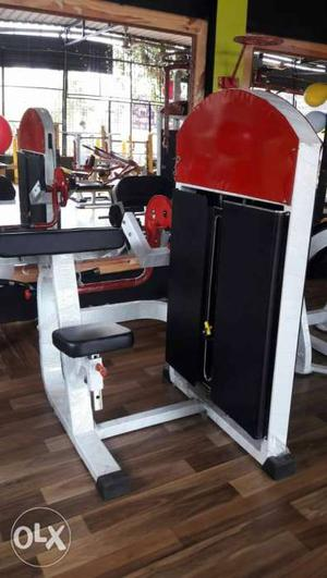 Gym and fitness equipment at one roof