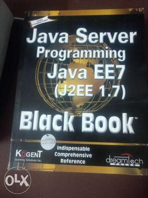 Java Server Programming Java EE7 Black Book