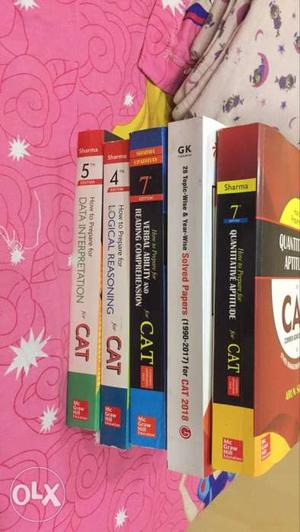 New books for Cat exam prepration, so who want to