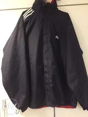 Adidas 2 way windshiter with hoodie, export
