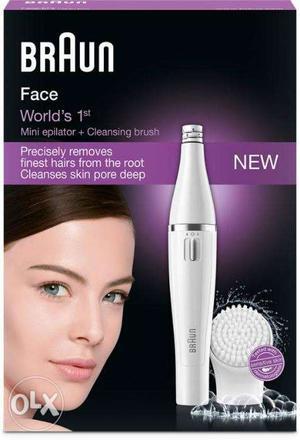 Braun Face 810 Epilator & Facial Cleanser For Women