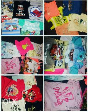 Cotton kids wear at  and 150 all types