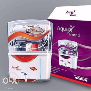 White AquaX Grand Water Purifier With Box Call me