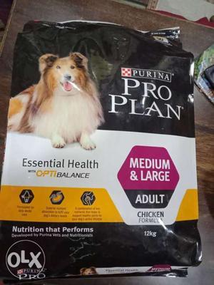 Pro plan 12kg medium large dog food at your door