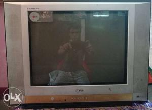 Gray Sony Widescreen CRT Television