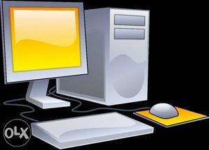 I need 1 pc Desktop or Laptop on rent. Min