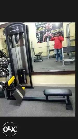 Leg press machine lat machine mid rowing machine