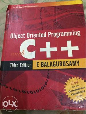 Object Oriented Programming C++ Book