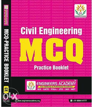 SSC-JE civil engg books from Engineer's Academy