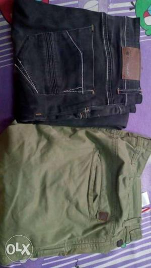 Mens newly bought jeans and joggers waist 34
