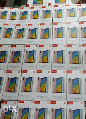 Redmi Note 5 Pro 4gb ram 64gb new 1yr warrenty [Blue/Rose