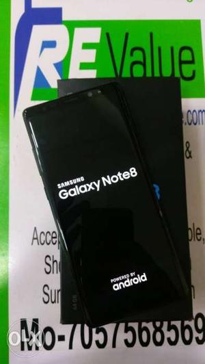 Samsung Galaxy Note 8 6 Month old Under Warranty