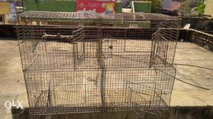 Steel 3mm mesh cage, location chennai. contact