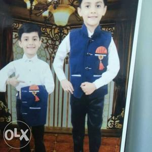 1 to 10 years old party wear clothes kids rakhi