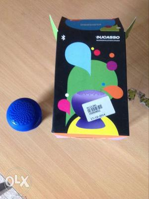 Brand new bluetooth ducaso speakers with clipping