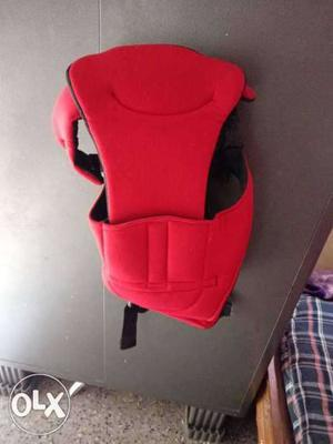 Red colour baby Carrier bag for new born baby