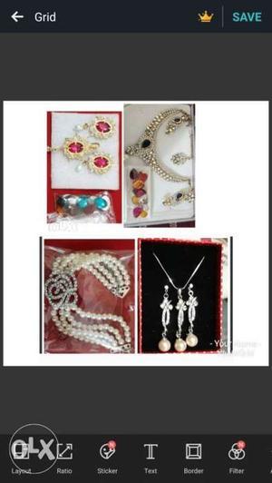Urgent sell changeable KUNDAN jewellery set.Italian