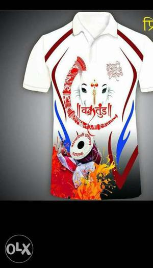 Any Type Of Print On T Shirt This Rate Is With T
