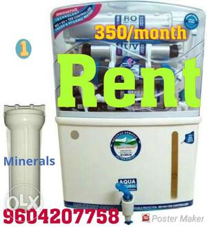 Brand New 7 stage RO+UV on rent at just 350/-