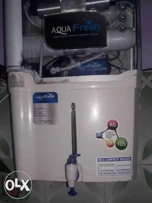 White Aqua Fresh Water Purifier