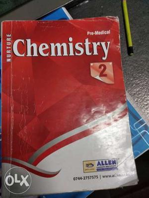 Nurture Pre-Medical Chemistry 2 Book