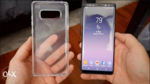 10 days old Samsung galaxy note 8 Orchid Grey is available